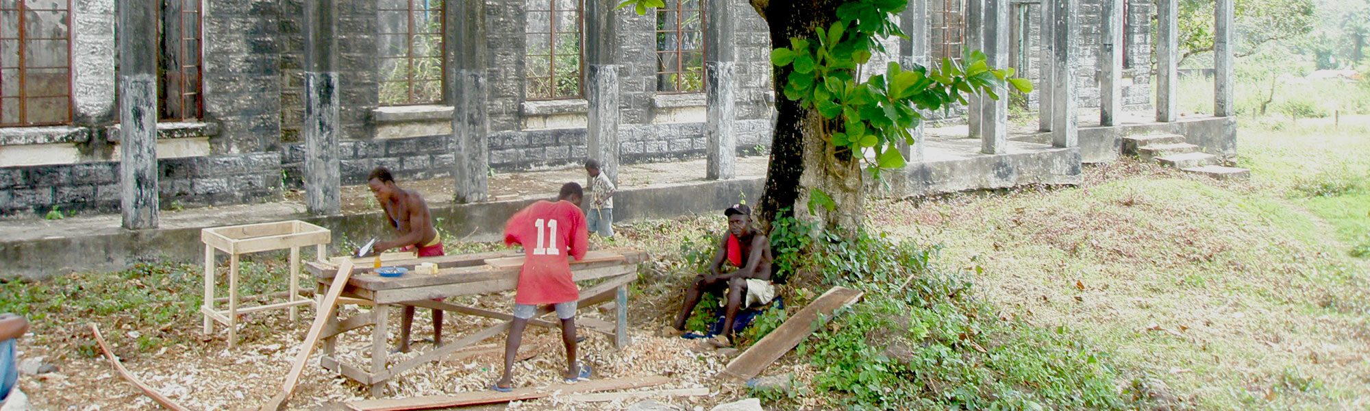 what's left of hatfield archer memorial hospital rotifunk sierra leone 2004