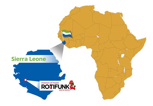 where is Rotifunk, Sierra Leone