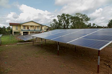 solar power for Rotifunk Hospital