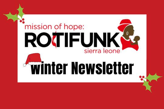 Mission of Hope: Rotifunk Hospital 2020 Holiday Newsletter
